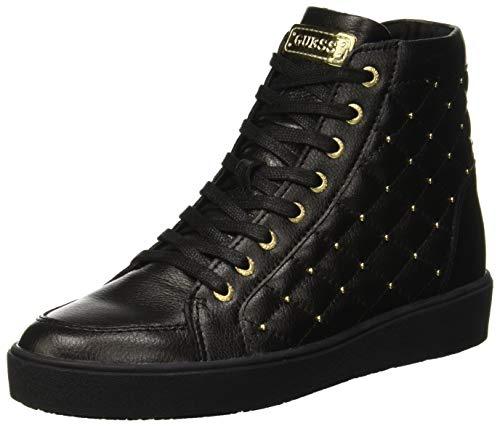 Guess Grace, Sneaker a Collo Alto Donna, Nero Black, 38 EU