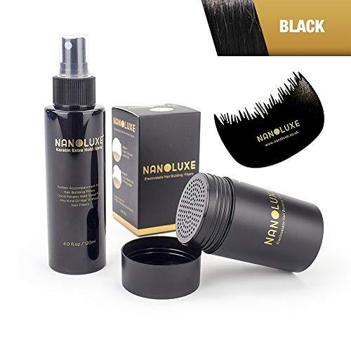 Nanoluxe Spray de maintien pour fibres capillaires noires et kératine