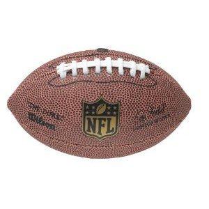Wilson NFL Junior Micro Offizieller American Football Soft Grip Spielball