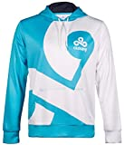 Cloud9 Official Pullover Hoodie Sweatshirt - 2017 Rerelease Pro Edition, Unisex Adults & Teens, Printed Graphic Logo, Merchandise - Esports Apparel for Young Gamers, Players & Fans (2X Large)