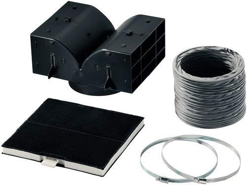 Bosch DHZ5325 Zubehör für Dunstabzüge / Standard Umluftset / Aktivkohlefilter / für Umluftbetrieb / Umlenkweiche / Flex-Schlauch / Schlauchklemmen / Befestigungsmaterial