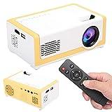 Mini proiettore portatile, proiettore cinematografico LCD a LED, supporto decodifica 1080P, altoparlanti integrati ad alta fedeltà Lettore multimediale domestico per bambini presenti,film,ecc(io)