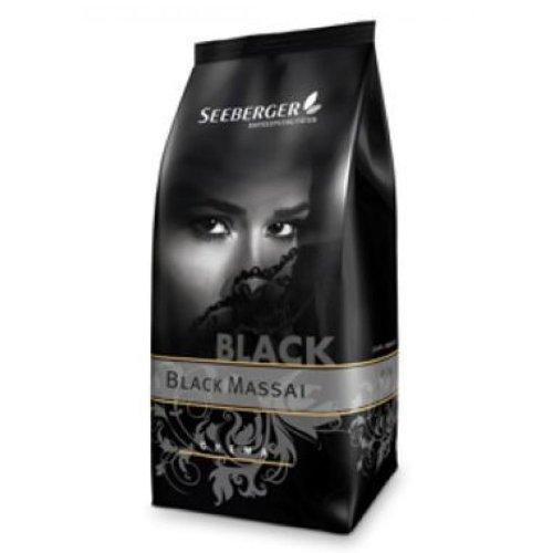 Seeberger Kaffee BLACK MASSAI Premium 1000g Bohnen