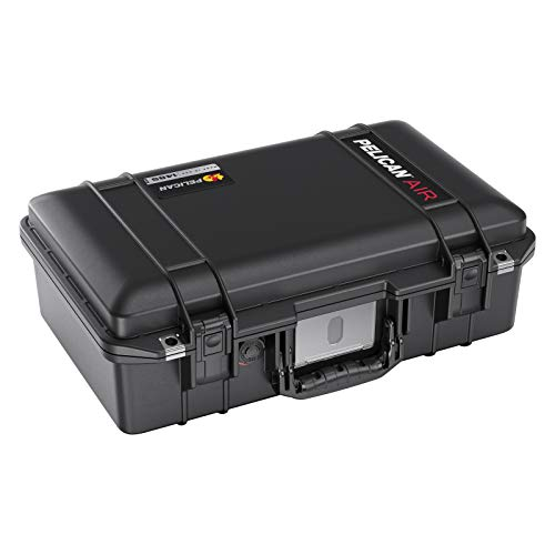 Pelican Air 1485 Case with Foam 2020 Edition with Push Button Latches  Black 0148500001110