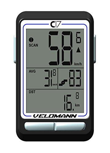 Velomann CICLOCOMPUTER C17 Wireless (Batterie) F.CICLO+Cadenza
