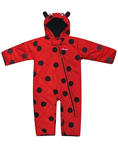 Dare 2b Kinder Break The Ice Breathable Full Zip Snowsuit Lifthose, Lollipop, Size 18-24