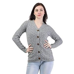 Kalt Women's Acrylic V-Neck Sweater 11 41w5WjqqKNL. SL500 . SS300