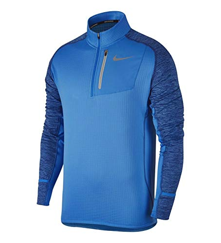 Nike Therma Sphere Element Running Top Shirt Blue Size 2XL AO2617-406