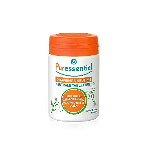 Puressentiel - Bases Indispensables - Comprimés Neutres Enrichis en Acérola pour Huiles Essentielles - 30 comprimés