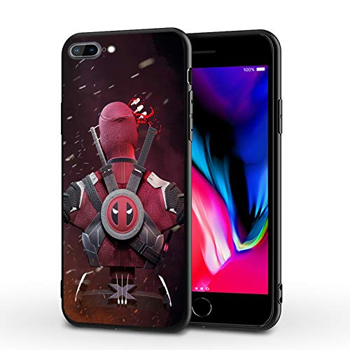 PUTEE Comics iPhone 7 Case iPhone 8 Case iPhone SE 2020 Case Full Body Protection Cover Cases (Dead-Pool, iPhone 7/8/SE2)