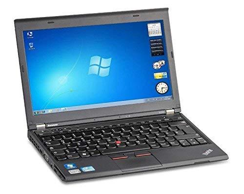 Lenovo ThinkPad X230Intel i5–3320m CPU 12,5zoll (Intel Core i53320m @ 2,60ghz, 8GB di RAM, 256GB SSD, Win 10Pro 64bit) (Ricondizionato)