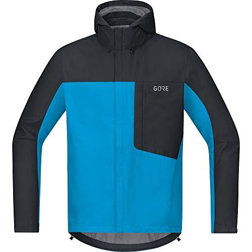 GORE WEAR C3 Chaqueta de hombre con capucha GORE-TEX, M, azul