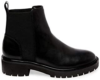 Steve Madden Gliding Womens Booties (9, Black Leather)
