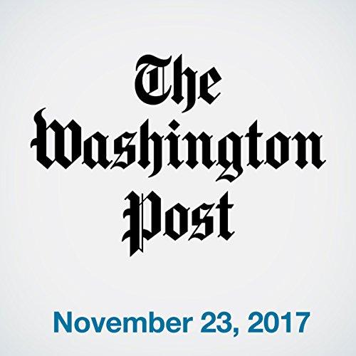 November 23, 2017 copertina