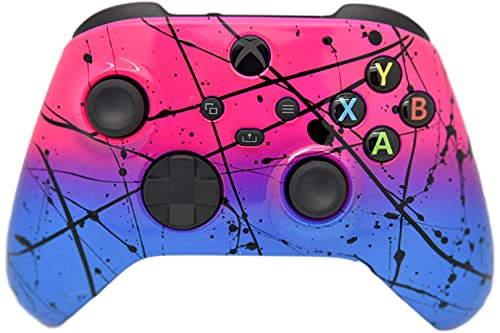 Hand Airbrushed Fade Custom Controller Compatible with Xbox Series X/S & Xbox One (Series X/S Hot...