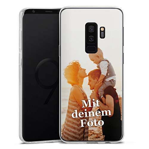 DeinDesign Silikon Hülle kompatibel mit Samsung Galaxy S9 Plus Handyhülle Case Selbst Gestalten Personalisieren Zum Anpassen