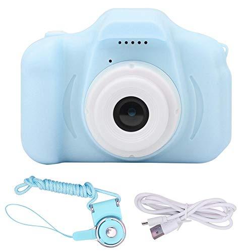 VINGVO Videocámara para niños, cámara Digital para niños, 2 Colores para niños y niñas(Blue)