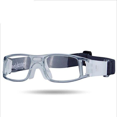 OPEL-R Outdoor-Basketball und American Football Sportbrillen, Sportbrillen HD Belüftung (Unisex und PC-Material) , 4