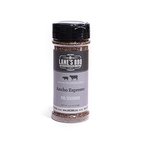 Lane's BBQ Ancho Espresso Rub 4oz