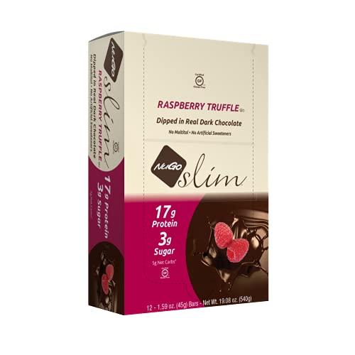 NuGo Slim Dark Chocolate Raspberry Truffle