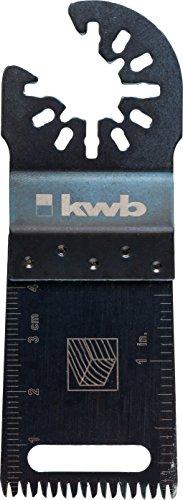 kwb Tauchsägeblatt mit Japanzahnung Akku Top, schwarz, 709194