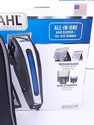 WAHL Juego completo de corte de pelo de lujo 29 piezas Clipper Set con recortadora de barba -Retail $125+!!!