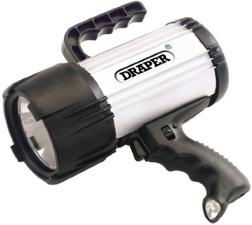 Draper 78931 Lampe torche Halogène/LED Rechargeable 1 million de bougies (Import Grande Bretagne)