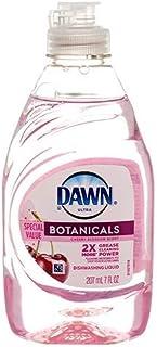 Dawn Ultra BOTANICALS DISHWASHING Liquid Cherry Blossom 7oz (Package May Vary) Pack (6)