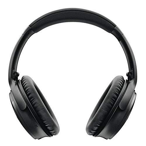 Casque Bluetooth sans fil Supra-Aural Bose QuietComfort35II avec Microphone Intégré pour le Contrôle Vocal via Alexa, Triple Midnight [Exclusif Amazon]