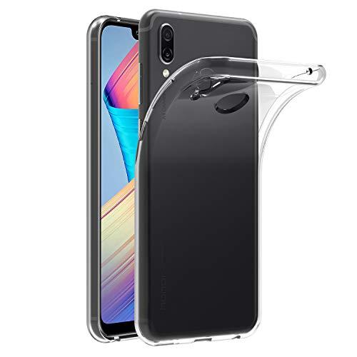 ivoler Funda Carcasa Gel Transparente para Huawei Honor Play, Ultra Fina 0,33mm, Silicona TPU de Alta Resistencia y Flexibilidad
