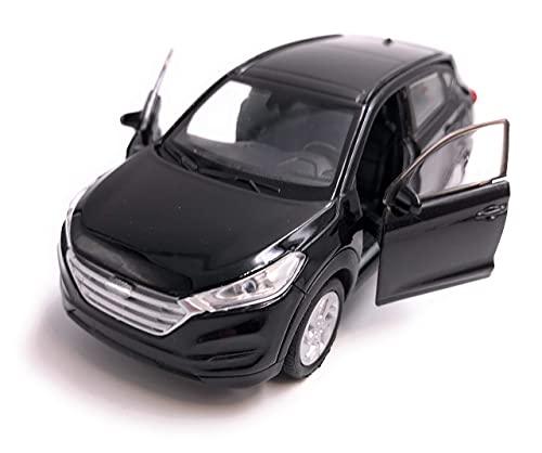 H-Customs Voiture modèle Hyundai Tucson Auto Produit sous Licence 1: 34-1: 39 Noir