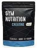 KREATIN CREAPURE Monohydrat Pulver 600g reines Kreatin Monohydrat Pulver mit 99,99% Reinheit Vegan, Halal und hergestellt in Deutschland VERGLEICHSSIEGER 2021