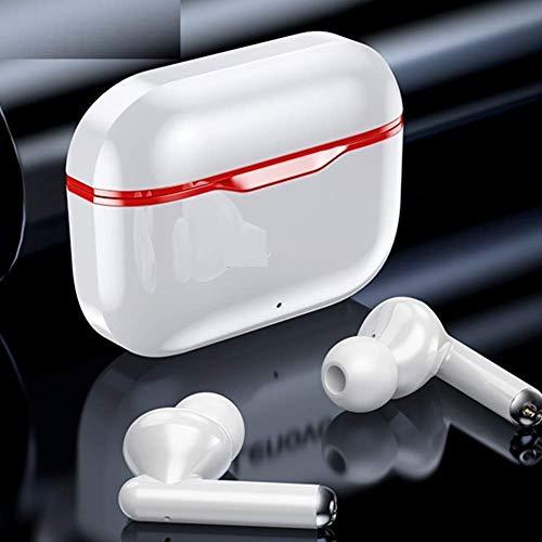 KKmoon LivePods LP1 True Wireless Earbuds BT 5.0 Fones de ouvido TWS Stereo com Touch Control Dual Hosts TWS Headsets IPX4 impermeável Sports Headphones com tecnologia de redução de ruído HD chamada