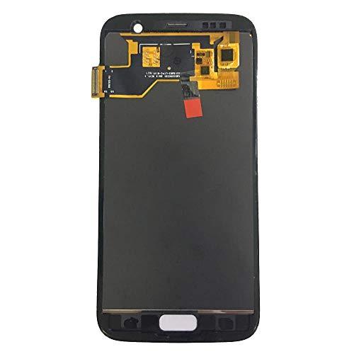 Un known Teléfono móvil reemplazable For la Galaxia S7 G930A G930F SM-G930F LCD de Pantalla táctil Reemplazo del Conjunto del digitalizador for Samsung LCD S7 Partes de máquina (Color : White)