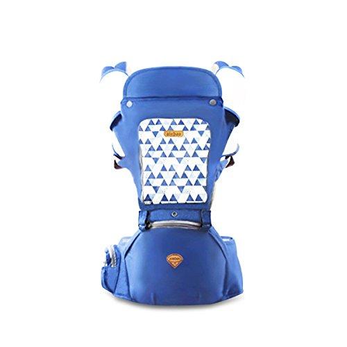 SONARIN Sonnenschutz Hipseat Baby Carrier,Babytrage, Atmungsaktiv, Aufbewahrungstaschen,Einfach zu tragen und Enfach Mom,100{2600b79069df609407899cf038936a78262f2b917d03ea3a466d30da623edc98} GARANTIE und KOSTENLOSE LIEFERUNG, Ideal Geschenk(Blau)