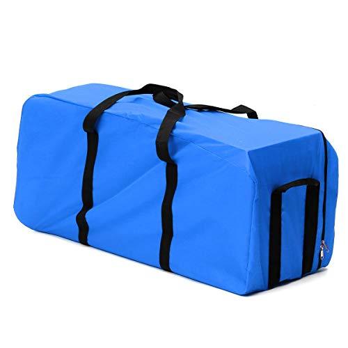 Gymy 50L/100L/150L Pieghevole Viaggio Duffle Bag Escursionismo Campeggio Zaino Grande Capacità Outdoor Ciclismo Zaino (Colore: Blu, Taglia: L)