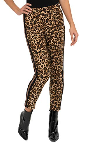 Joseph Ribkoff Brown & Black Leopard Print Pants Style - 193681 Fall 2019 Collection (14)