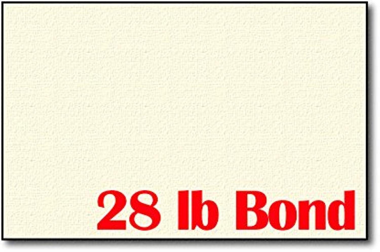 Creme Leinen 12,7 kg Bond 5 1 5,1 cm X X X 8 1 5,1 cm Blatt (die Hälfte Buchstabe Größe) – 250 Blatt B013PQW9AO | Qualität Produkt  0626bf