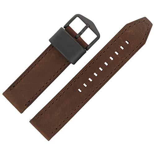 Fossil Uhrenarmband 22mm Leder Braun - FS-4656 | LB-FS4656