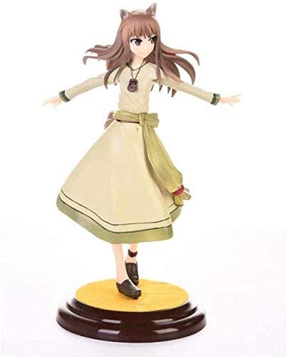 HQYCJYOE Personajes de Anime Modelo Especia y Lobo Boda Holo Vestido Figura de acción 10 ° Aniversario PVC Colección de Figuras Muñeca 20cm