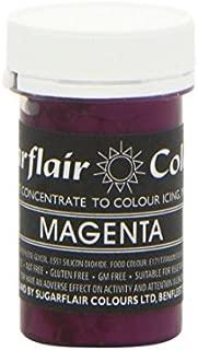 Sugarflair MAGENTA Purple Pastel Paste Gel Edible Food Icing Colouring