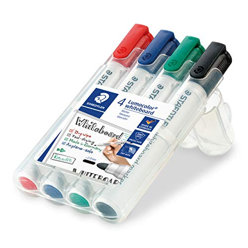 Best Price Square STAEDTLER WHITEBOARD Markers 351WP4 by STA