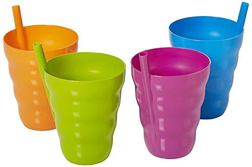 Lista de Vasos de plastico con popote del mes. 8
