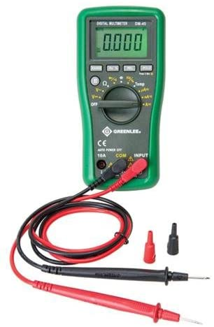Greenlee - Dmm Topics on A surprise price is realized TV 600V Ac Dc Instruments Elec Temp Cap Test 10A