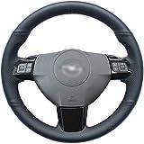 NsbsXs Für Opel Astra 2004 2009 Zaflra 2005 2014 Signum 2005 2009 Vectra 2005 2009 Holden Astra Black Lenkradabdeckung