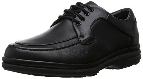 [アシックスウォーキング] 高機能クッション ウォーキング ペダラ 4E テック スニーカー 日本製 革靴 メンズ ブラック 423 24.0 cm