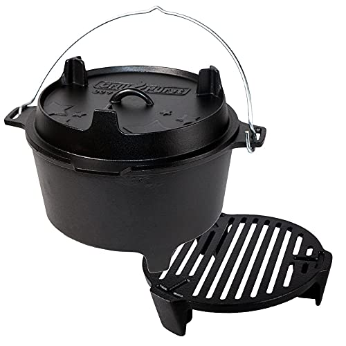 Grillfürst Dutch Oven ca. 9 Liter -...