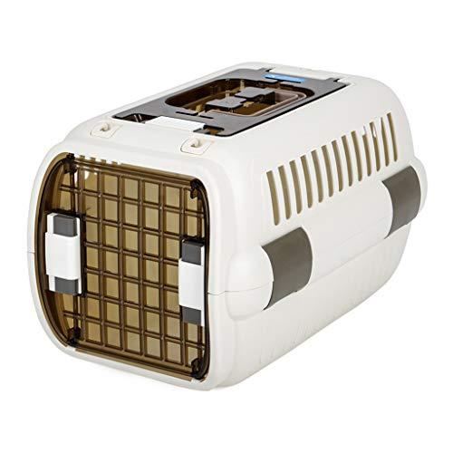 Gabbiette cucce Cucciolata per Gatti lettiera per Animali Domestici Gatto Le Gatto Box per Animali Domestici Aria Gatto Box per Cani in Gabbia di Viaggio Portatile