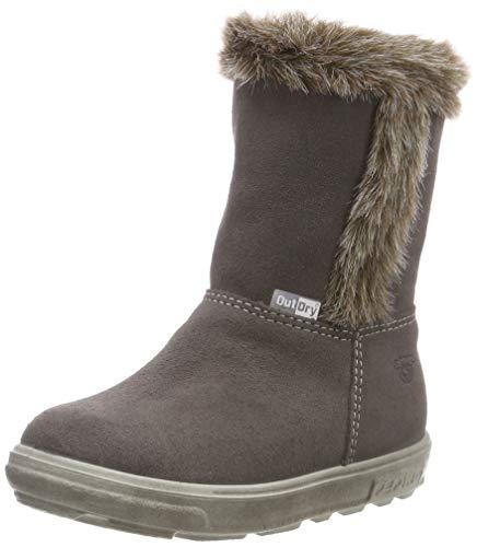 RICOSTA Mädchen USKY Hohe Sneaker, Grau (Meteor 461), 27 EU