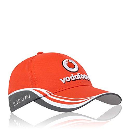 Vodafone Mclaren Kinder Cap orange/grau one size
